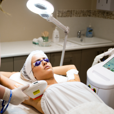 SHR IPL hair removal at Stolen Moment Beauty