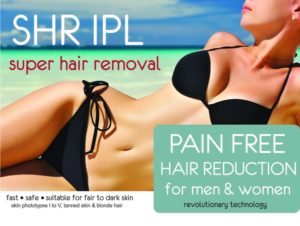 SHR IPL hair removal at Stolen Moment Beauty. East Victoria Park Perth