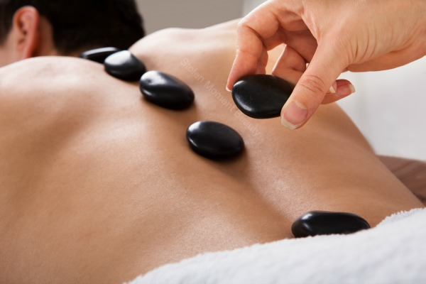 Hot stone Massage at Stolen Moment Beauty